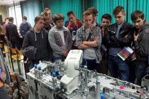 Uczniowie klas maturalnych z wizytą na ATH w Bielsku- Białej