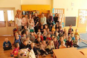 Fryzjerzy z Kopernika w przedszkolu