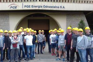 Przyszli elektronicy i informatycy z Kopernika w elektrowni ŻAR