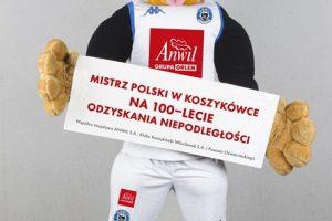 Mistrz Polski w koszykówce na 100-lecie odzyskania niepodległości