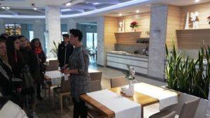 Hotelarze w Molo Resort w Osieku