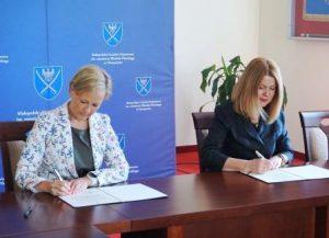 Umowa partnerska z PWSZ im. rtm Witolda Pileckiego